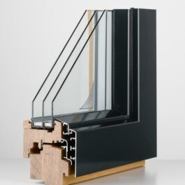 Eurolux aluclad Window
