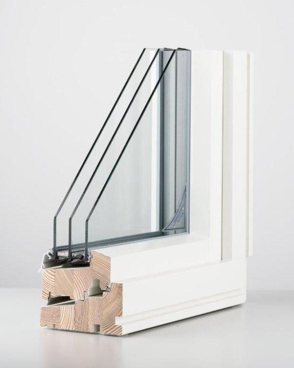 Passive Timber Window