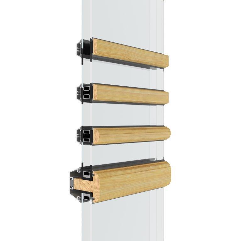 Aluclad Window Glazing Bar Solution